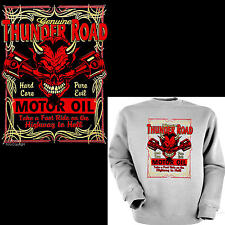 Sweatshirt AUTO SPORTIVA rockabilly-kustom V8 GARAGE Pullover Speed Shop 1238