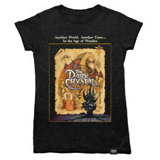 Ladies Dark Crystal Movie Poster T Shirt Retro Jim Henson Labyrinth Skeksis Film