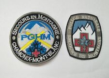 ecusson patch secours en montagne esf ffs ski snowboard