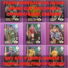 Panini Adrenalyn XL Russia 2018 World Cup - Double Trouble/Game Changer **New**