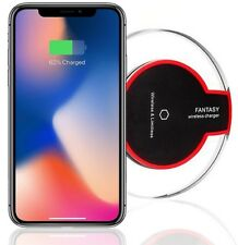 QI Wireless Power Charging Charger Pad Dock Mat For iPhone X 10 8 8 Plus UK