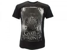 T-Shirt TRONO DI SPADE Maglietta GAMES OF THRONES Uomo NERA Donna IDEA REGALO