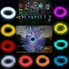 Flexible EL Wire Neon Light 3 M For Dance Party Car Decor With Controller*LU