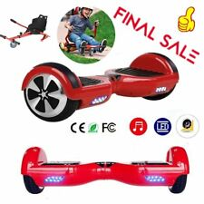 ROSSO HOVERBOARD ELETTRICO SCOOTER LUCI LED 4400mAh 6,5'' / HOVERKART KY