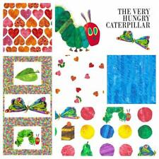 The Very Hungry Caterpillar Fabric 100% Cotton Quilting Patchwork Dressmaking