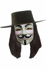 Rubies Official Licensed V For Vendetta Halloween Mask Fancy Dress Accessory