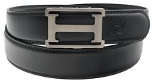 Mens Womens Automatic Buckle Luxury Ratchet H Belt Gift EB10