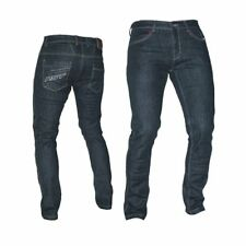 RST 2004 Aramid Straight Motorcycle Motorbike CE Mesh Jeans Trousers - Black