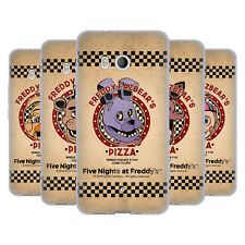 FIVE NIGHTS AT FREDDY'S FREDDY FAZBEAR'S PIZZA SOFT GEL CASE FOR HTC PHONES 1