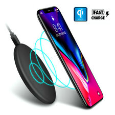Qi Wireless Charger Charging Dock Pad Mat for Apple iPhone X 8 Plus Note 8 S8