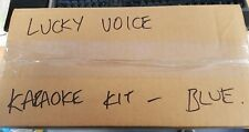 LUCKY VOICE PARTY BOX KARAOKE SYSTEM - PINK OR BLUE - REBOXED CLEARANCE