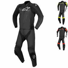 Alpinestars Challenger v2 2 Piece Leather Motorcycle Suit Track Racing Motorbike