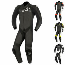 Alpinestars Challenger v2 1 Piece Leather Motorcycle Suit Track Racing Motorbike