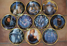 DANBURY MINT Wedgwood THE FELLOWSHIP OF THE RING COLECCIONISTA Placas -