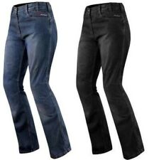Jeans Femme Denim CE Protections Moto Motard Pants Coton Scooter Lady Trousers