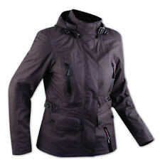 CE Armour City Scooter Ladies Textile Motorcycle Touring Motorbike Jacket Brown