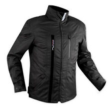 Textile Waterproof CE Armour Thermal Jacket Motorcycle Scooter Black