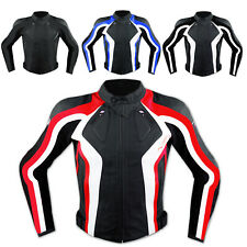 Motorbike Motorcycle Ladies CE Armours Sport Leather Racing Tour Jacket Quality