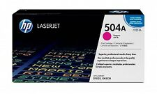 NEW! Hp 504A Magenta Original Laserjet Toner Cartridge CE253A