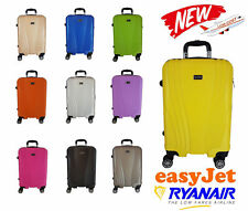 Trolley Ccabina BAGAGLIO A MANO RYANAIR EASY JET VALIGIA 4 RUOTE LOW COST #