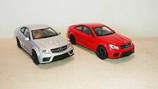 Mercedes-Benz C 63 AMG Coupe Black Series Diecast Scale Model Car Scale 1:38 NEW