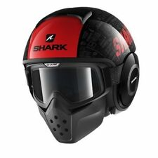 SHARK DRAK TRIBUTE RM KRA CASCO JET CAFE' RACER - NAKED DA XS A XL