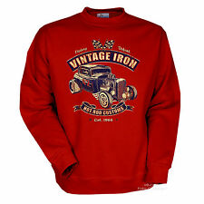 Sweatshirt ROCKABILLY AUTO SPORTIVA AUTOMOBILE Kustom Speed Shop 1288