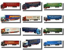 Oxford Diecast 1/76 Trucks, Curtainsiders, Recovery Vehicles.