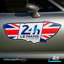 Official Le Mans 24h Union Flag Circuit Sticker Decal - Officially Licensed