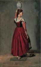 Italian Woman Camille Corot 1628 Art Photo/Poster Repro Print Many Sizes  A0/85c