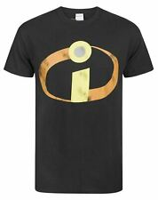 The Incredibles Movie Distressed Logo Men's Costume Novelty Tee T-Shirt
