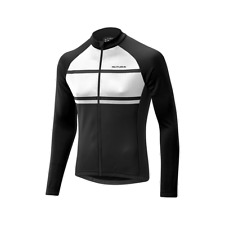 altura AIRSTREAM manga larga jersey negro/blanco