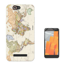 178 World Map Custodia GEL Cover per Wiko jerry lenny sunny tommy