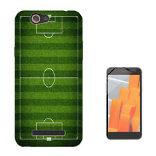 482 Football Pitch Custodia GEL Cover per Wiko jerry lenny sunny tommy