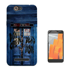 597 Tardis Custodia GEL Cover per Wiko jerry lenny sunny tommy