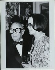 Irving Lazar (American Talent Agent), Mary Lazar (Wife of Irving Lazar) Photo