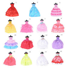 Handmade Party Gown Clothes Wedding Dress Outfits For Barbie Doll STDE