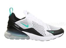 Nike Air Max 270 White Dusty Cactus Turquoise Black  Mens Trainers AH8050-001