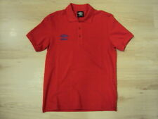 UMBRO S/S POLO SHIRT RED, NEW! MOD-CASUAL-SKINHEAD-ULTRAS-VINTAGE