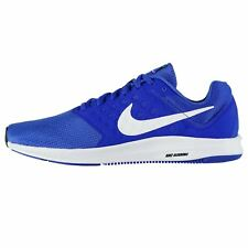 Nike Downshifter 7 Trainers Mens Blue/White Athletic Sneakers Shoes