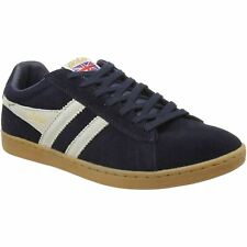 Gola Equipe Navy Stone Mens Suede Classic Low-top Retro Sneakers Trainers