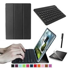 """Smart Case Cover And Bluetooth Keyboard for Samsung Galaxy Tab A 10.1"""" T580 T585"""