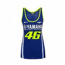 Official VR46 Valentino Rossi MotoGP Women Yamaha 46 Racing Tank Top - Blue