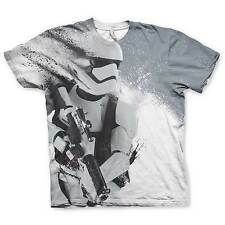 UFFICIALE UNISEX STAR WARS THE FORCE AWAKENS Storm Trooper T SHIRT