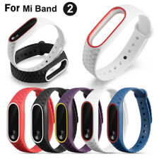 UK Silicon Wrist Strap Wristband Bracelet Replacement Sport for XIAOMI MI Band 2