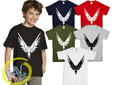 Kids Adult WINGS T-SHIRT jake paul logan logang jp youtuber maverick top