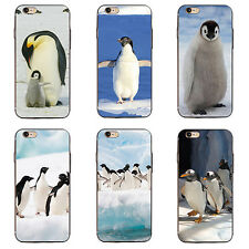 LC_ HK- PINGUINO CUSTODIA COVER per iPhone SE 5 6 7 PLUS SAMSUNG GALAXY S5