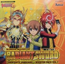 Cardfight Vanguard Glorious BRAVERY de Radiante Espada vge-g-bt07 4 TARJETAS