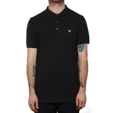 X Lyle & Scott Polo Shirt - True Black