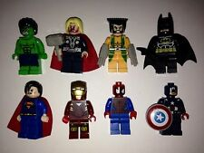 Novelty Marvel/DC Minifigure Superhero Cufflinks Ironman Batman Spiderman Hulk